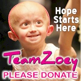Thank you for supporting Team Zoey and The Progeria Research Foundation.